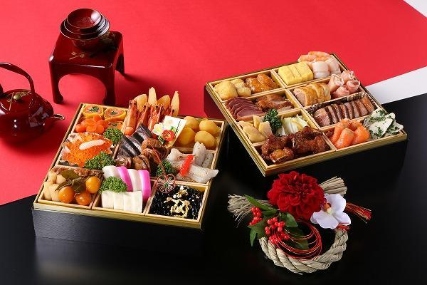 special new year s dishes おせち osechi made by select royal