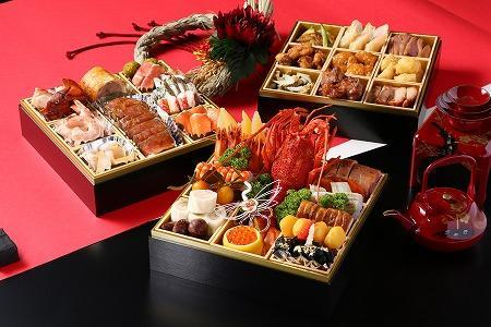 Special New Year's Dishes 'おせち - Osechi' made by Select Royal Yatsishiro